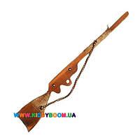 Детская деревянная игрушечная винтовка Руди Д396уа