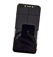 Оригинальный дисплей (модуль) + тачскрин (сенсор) для Prestigio MultiPhone Grace Z5 5530 Duo (черный цвет)