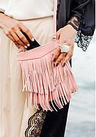 Сумка BlankNote BN-BAG-16-barbi кожаная Розовый