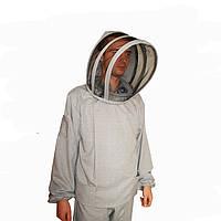 Костюм пчеловода сетка европейского образца  (100% Катон)