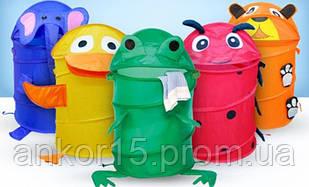 """Детская корзинка для игрушек """" Животные"""" М 0282"""