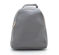 Сумка Женский рюкзак серый