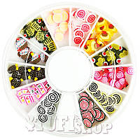 Фимо YRE в кассетке - Candy сладости, 120 шт