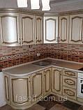Кухня под заказ Эмилия МДФ пленочный с патиной, фото 2
