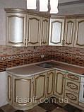 Кухня под заказ Эмилия МДФ пленочный с патиной, фото 3