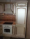 Кухня под заказ Эмилия МДФ пленочный с патиной, фото 4