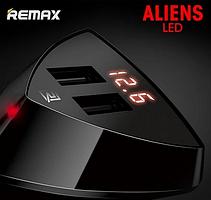 АЗУ Remax RCC-208 ALIENS (2 USB/3.4A) с LCD дисплеем, фото 2