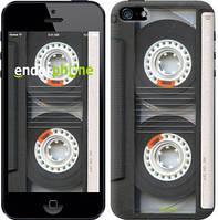 """Чехол на iPhone SE Кассета """"876c-214-4848"""""""