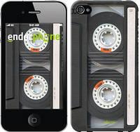 """Чехол на iPhone 4 Кассета """"876c-15-4848"""""""