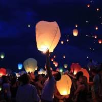 Наборы небесных фонариков