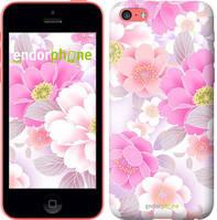 """Чехол на iPhone 5c Цвет яблони """"2225c-23-4848"""""""