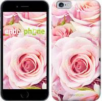 """Чехол на iPhone 6 Розы """"525c-45-4848"""""""