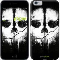 "Чехол на iPhone 6 Call of Duty череп ""150c-45-4848"""