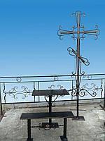 Кованые кресты + оградки