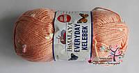 Пряжа Эвридей келебек Everyday kelebek Anti-pilling Himalaya, 79109, персик