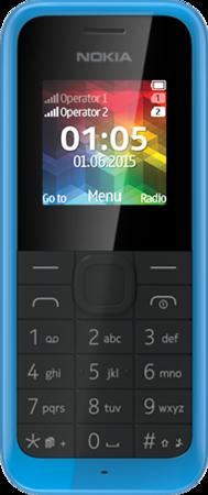 Мобільний телефон Nokia 105 Cyan (A00025706) RM-1134
