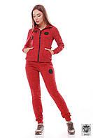 Спортивный костюм красного цвета женский Vanessa