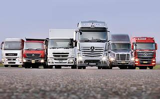 Комплекты стекол для грузового транспорта
