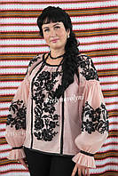 Блуза женская с вышивкой БЖ 5129,вышиванка, вышитая блузка, вишита блузка, вишиванка