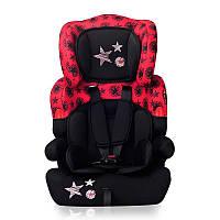 Автокресло KIDDY 9-36 KG для детей от 1 года до 12 лет (мягкий вкладыш, ремни безопасности, бустер) ТМ Lorelli
