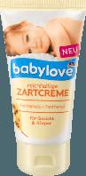 Детский крем для лица и тела Babylove Zartcreme, 75 ml.
