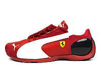 Красные кроссовки мужские Puma Ferrari Low