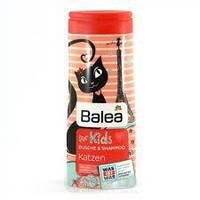 Шампунь & гель (дитячий) Balea for Kids Katzen 300мл (4010355197627)