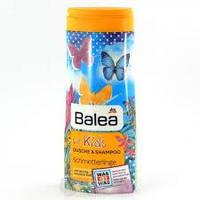 Шампунь & гель (дитячий) Balea for Kids Schmetterlinge 300мл (4010355236319)