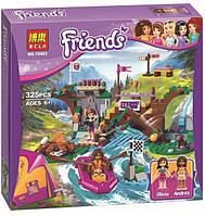 """Конструктор Bela 10493 (Аналог Lego Friends 41121) """"Спортивный лагерь: сплав по реке"""" 325 деталей"""