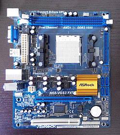 ASRock N68-VGS3 FX (Socket AM3+) - 100% рабочая