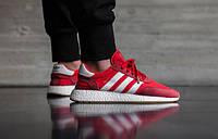 Adidas INIKI Runner красные подростковые кроссовки Адидас Иники