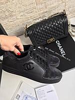 Модные женские кеды Chanel
