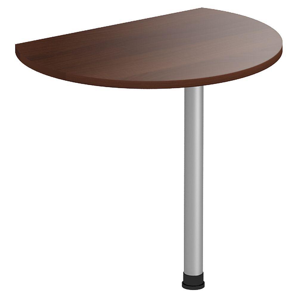 Стол приставной МГ-308 (840х636х750мм) орех темный (AMF-ТМ)