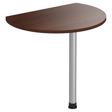Стол приставной МГ-308 (840х636х750мм) орех темный (AMF-ТМ), фото 2
