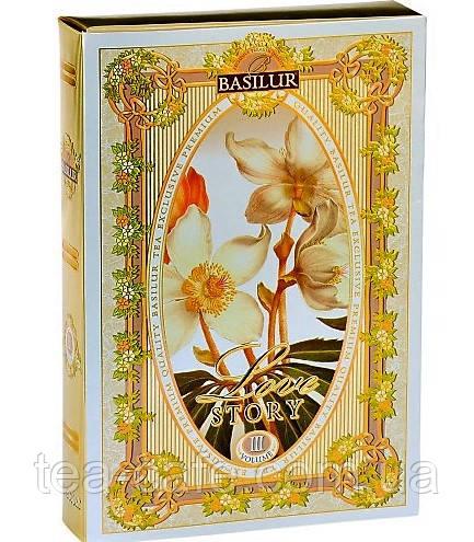 Чай зелёный Basilur История Любви Том 3 картон 75г.