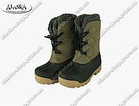Подростковые ботинки коричневые (Код: ДББ-06)