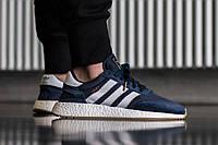 Adidas INIKI Runner синие подростковые кроссовки Адидас Иники