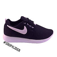 Кроссовки женские Nike Roshe Run Black