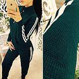 """Женский вязаный спортивный костюм """"Adidas"""", фото 2"""