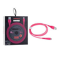 Momax USB cable TOUGH Link lightning 1.2m, pink (DL8P)