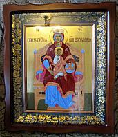 Икона писаная Божьей Матери Державная, фото 1