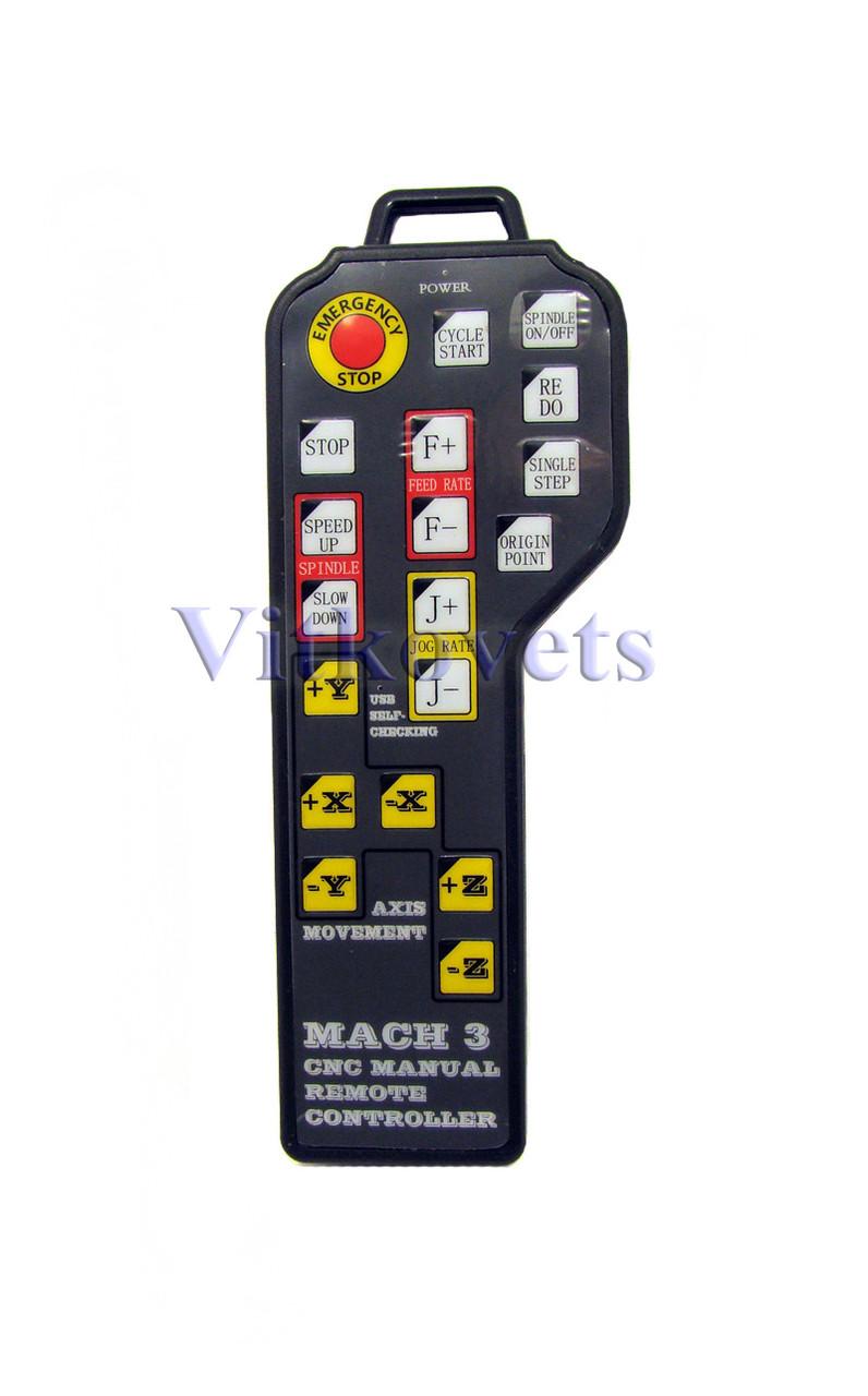 Пульт ручного управления для Mach3 USB