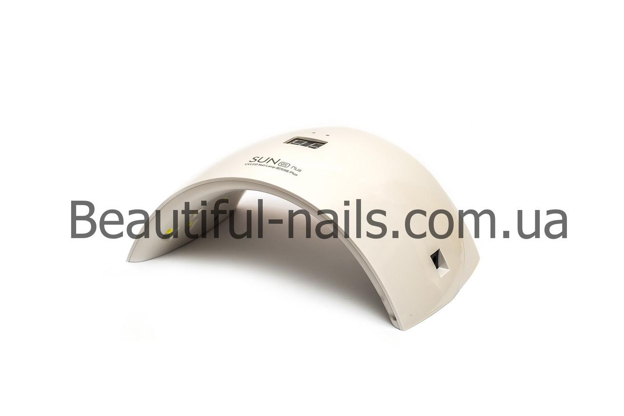 Универсальная UV LED лампа Sгт 9S 24 вт (для геля и гель-лака) с дисплеем и USB кабелем
