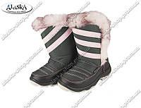 Детские сапоги розовые (Код: ДББ-23)