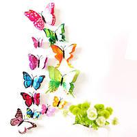 Двойные 3D бабочки для декора.