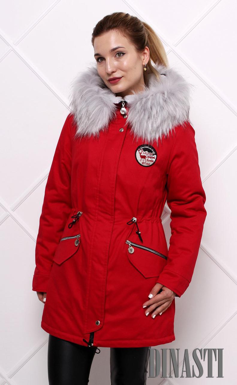 Куртка парка женская 2017-2018 Sherry