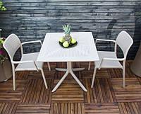 Комплект для кафе  Bora крісла + стіл  Clip 80 modern    mix color