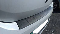 Защитная накладка на задний бампер Renault Logan (2013-2017)