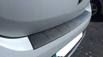 Защитная накладка на задний бампер Renault Logan (2013-2020)