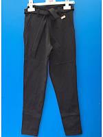 Модные школьные черные брюки для девочек 128-152 лет